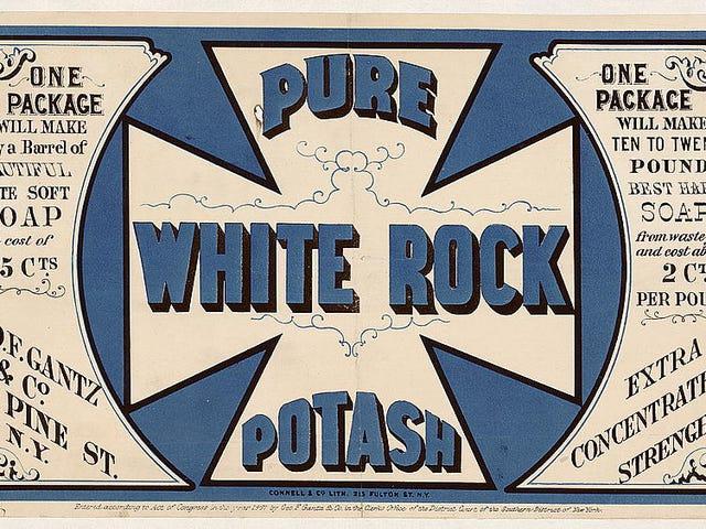 Pure White Rock Potash