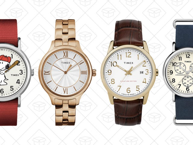 Grab 20% Off Timex Styles, Plus Free Shipping, During Their VIP Sale