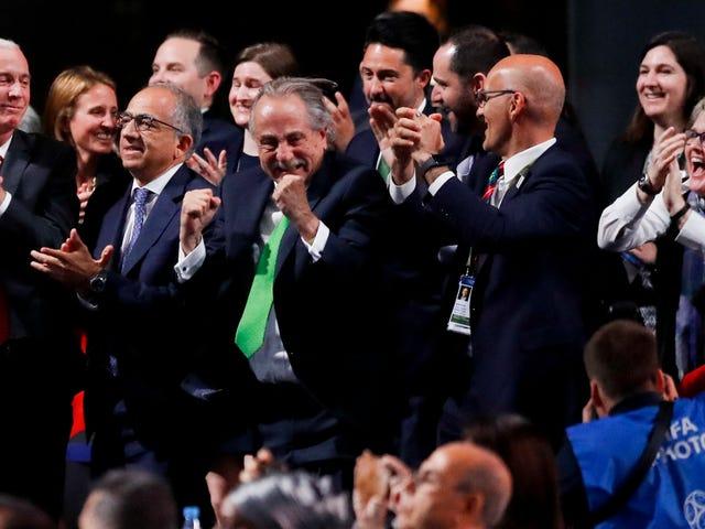 アメリカ、カナダ、そしてメキシコが2026年ワールドカップを開催します