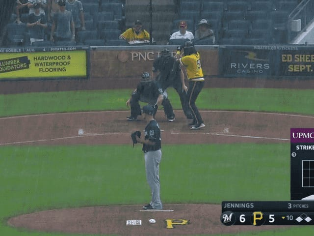 Pirates Plunder Walk-Off Win On Basically The Open Sea