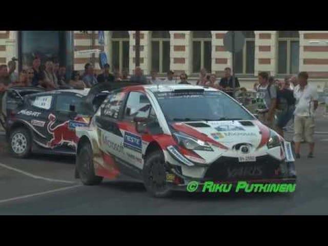 WRC Varm op - Lav em 'Dance