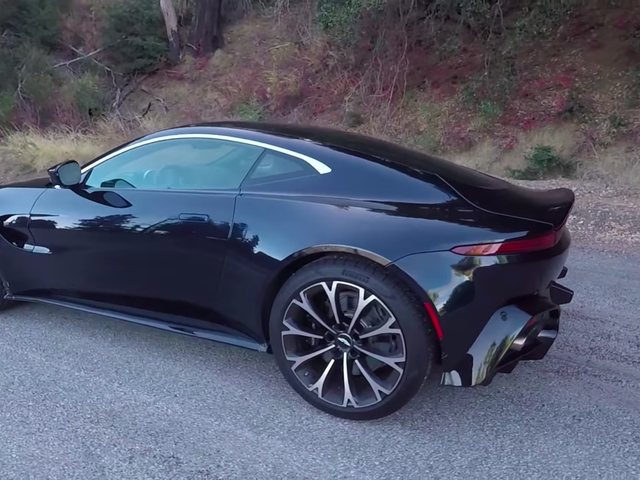The Aston Martin Vantage Shows How Hard It Is to Make a Good Fast Car