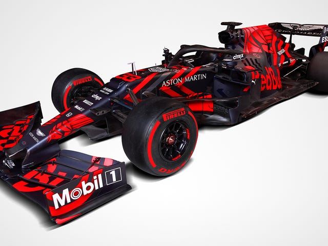 Everyone Go Home, Red Bull's New Livery Is the Best on the 2019 F1 Grid