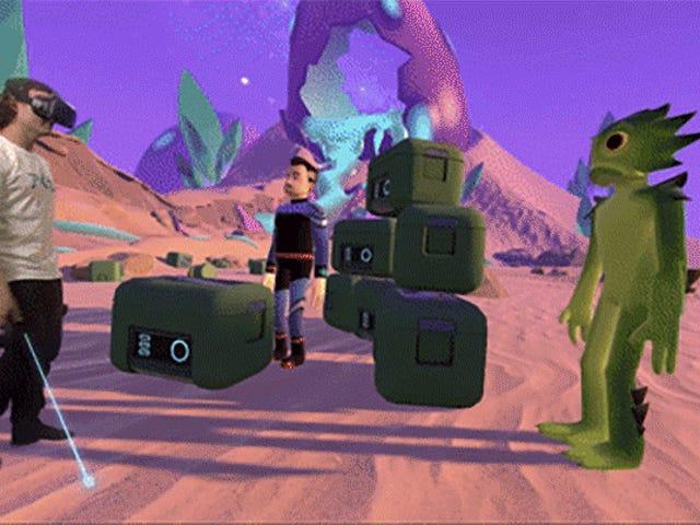 Intel har ingen idé vad man ska göra med VR, men det är kul att se det försöka