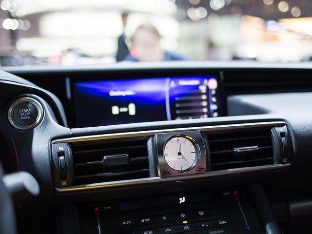 Analog Clocks In Cars: Good