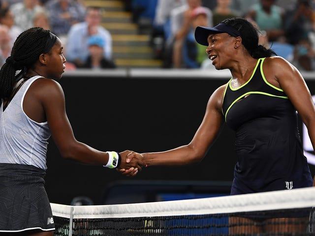 Heredero aparente: Coco Gauff supera a Venus Williams en la primera ronda del Abierto de Australia
