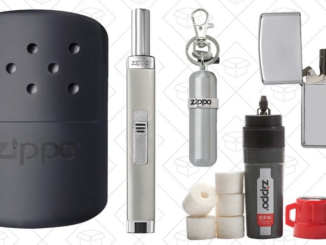 Don't Get Burned By Missing Amazon's One-Day Zippo Sale