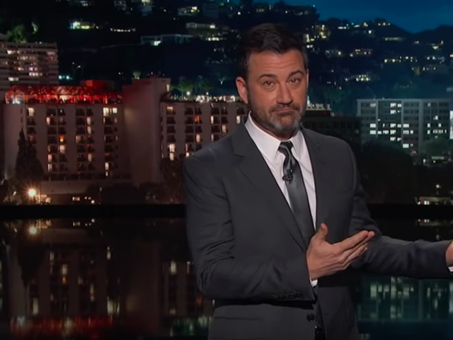 Jimmy Kimmel makes a long shot appeal for Donald Trump to end his government shutdown