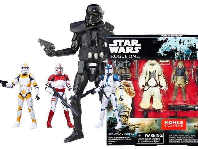 Держите свои глаза в стороне от этих Rogue One: A Star Wars Story эксклюзивные эксклюзивные покупки в магазине Rogue One: A Star Wars Story