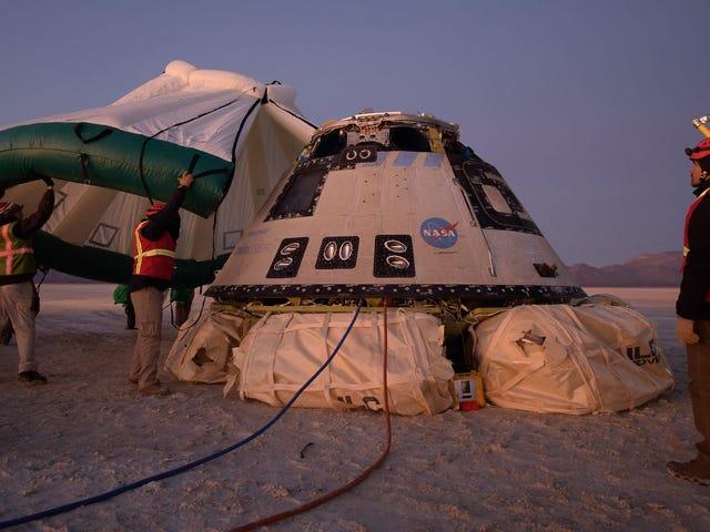 Boeingin ensimmäinen Starliner-avaruusaluksen lento päättyy melkein katastrofiin