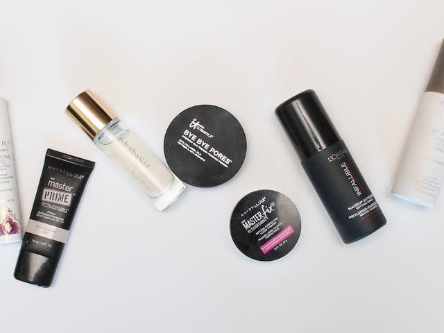 De beste, goedkoopste Primers en Setters om je make-up de laatste dag te maken