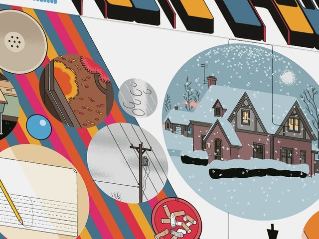 Visual innovation meets emotional exhaustion in Chris Ware's Rusty Brown