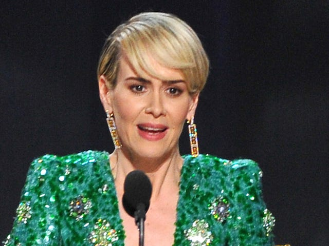 Sarah Paulson Wins Her First Emmy, Gives a Sweet Shoutout to Holland Taylor