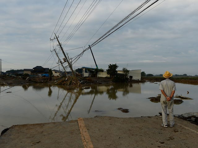 Japan's Deadly Typhoon Rains Have Left 2 Million Ready to Evacuate