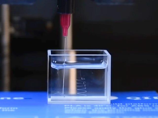 Μια ανακάλυψη σε τρισδιάστατα υγρά εκτύπωσης θα μπορούσε να οδηγήσει σε Squishy, ευέλικτα gadgets
