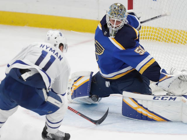 The St. Louis Blues Have Received A Miracle In The Form Of Some Guy Named Jordan Binnington