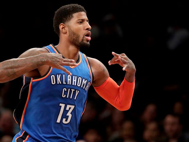 Paul George's Two-Way Brilliance Has The Thunder Kicking Ass