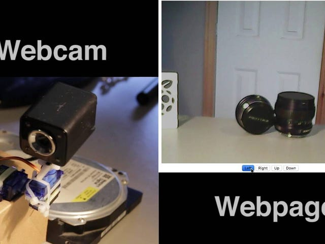 Build Your Own Pan-and-Tilt Security Camera with a Raspberry Pi and Arduino