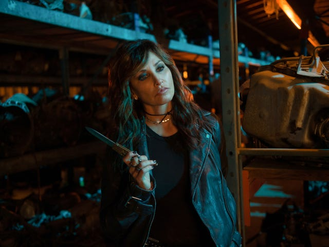 A knife-brandishing Gina Gershon livens up Riverdale's midseason finale