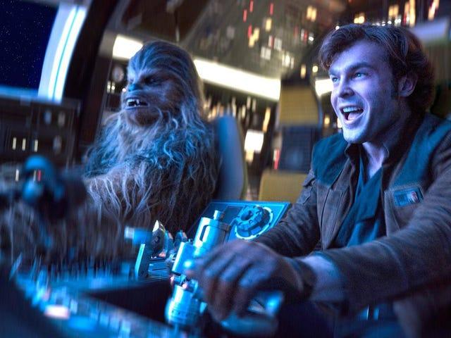 Lucasarts trabajaba en una película de Han Solo en solitario mucho antes de que Disney les comprara