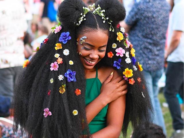 Black Beauty é um verdadeiro prazer para a platéia: Melhores fotos do Afropunk 2017
