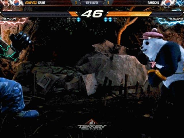 Pro Panda prend le Tekken Champ