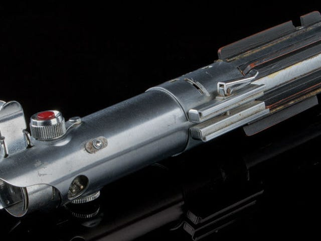 The Actual Skywalker Lightsaber From Star Wars and Empire Strikes Back Is Up for Auction