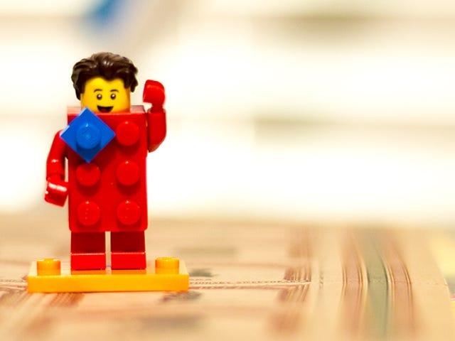 Happy 40th Birthday, Lego Minifigure