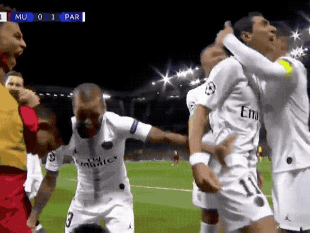 Ingen likte PSGs Beatdown of Manchester United mer enn Ángel Di María