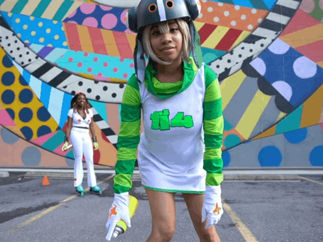 Holy Shit Jet Set Radio Cosplay
