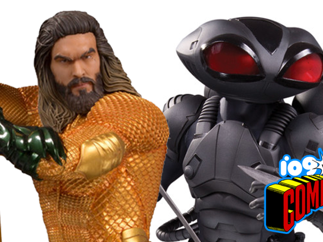 DC Collectibles Gives Us Our Best Look Yet at the Aquaman Movie's Comic-Inspired Costumes