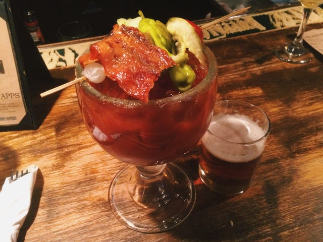 I like bloody Marys now