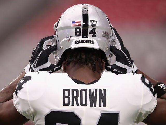 The Raiders Have Released Antonio Brown