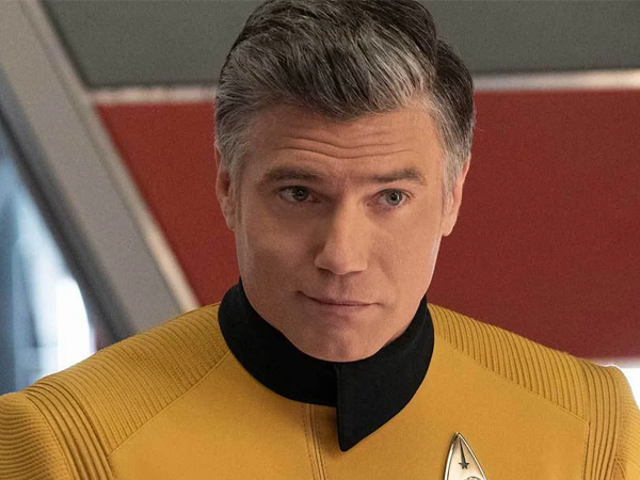 Anson Mount's Reaction to Learning He Was Playing Captain Pike on Star Trek Is Adorable