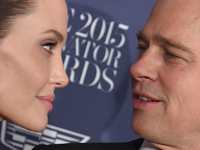 Angelina Jolie vil rapportert få barna (for nå)
