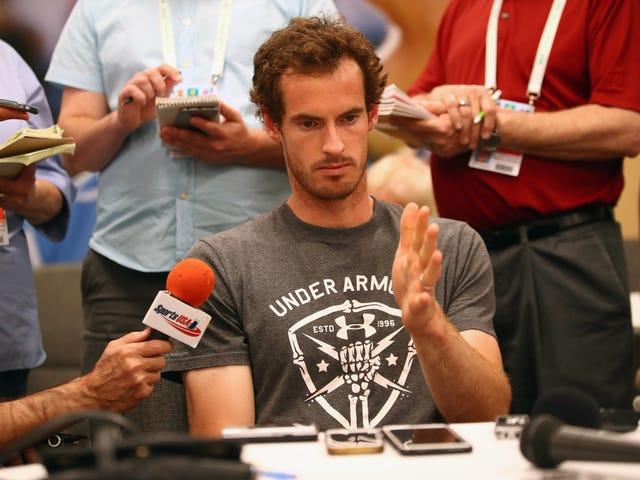 """""""Ya Tuhan, Ini Tentang Mendengus Lagi"""": Seorang Stenografer Resmi Menyuguhkan Pemindahan Pemain Tenis"""