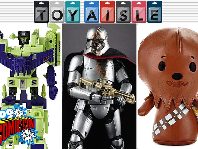 Star Wars, Transformers, Robot Horses, and Comic-Con's Other Wildest Toys (So Far)