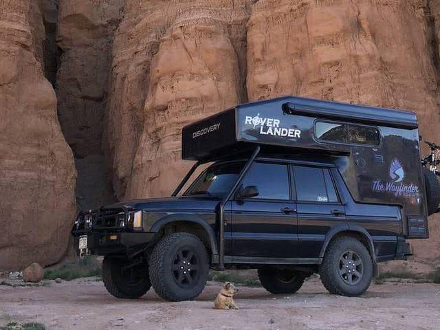 Könnte Ihnen diese von Wohnmobilen umgebaute Land Rover Discovery II von 2004 bei einem Preis von 31.500 US-Dollar helfen, Ihre wahre Natur zu entdecken?