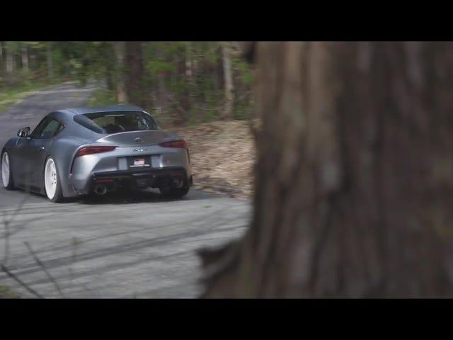 Duduk Toyota Supra Baru pada Roda yang berbeza dan Ia Memilih Pilihan
