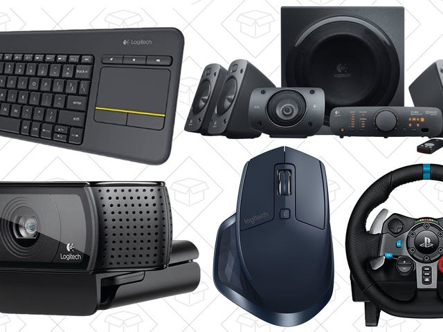 Knock Out Some Holiday Shopping Early With Amazon's One-Day Logitech Sale
