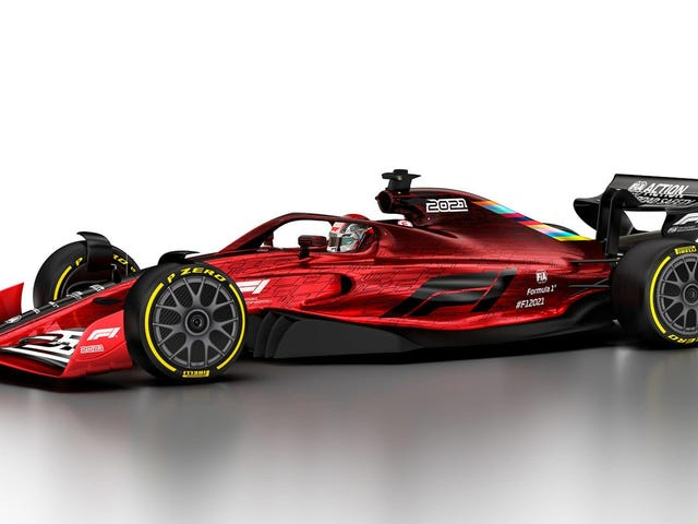 Formula One Will Cap Costs For The First Time (And Also Get A Gorgeous Car) For 2021