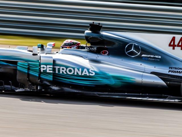 Lewis Hamilton rompió su propio nuevo récord en la tercera sesión de práctica de Austin F1