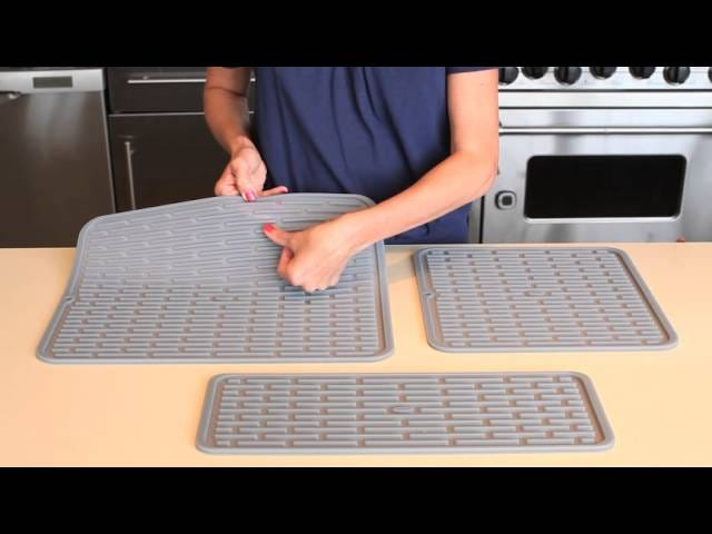 Your Dish Drying Mat Shouldn't Be Made of Anything but Silicone