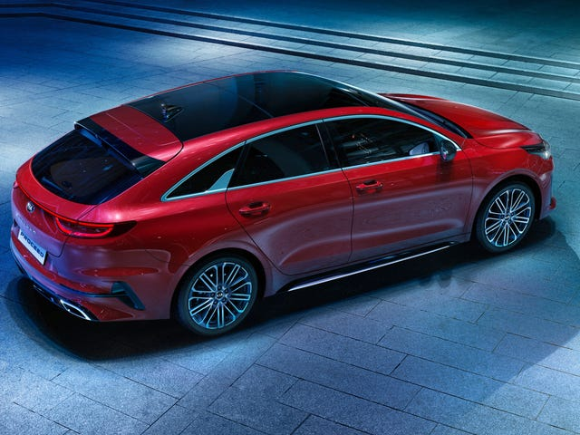 The 2019 Kia ProCeed Is Yet Another Gorgeous European Wagon We Won't Get
