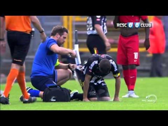 Pukul Pemain Bola Dipulihkan Dengan Spray Magic
