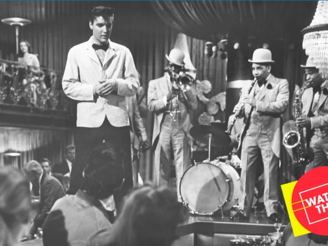 Elvis wredny James Dean w swoim ulubionym pojeździe