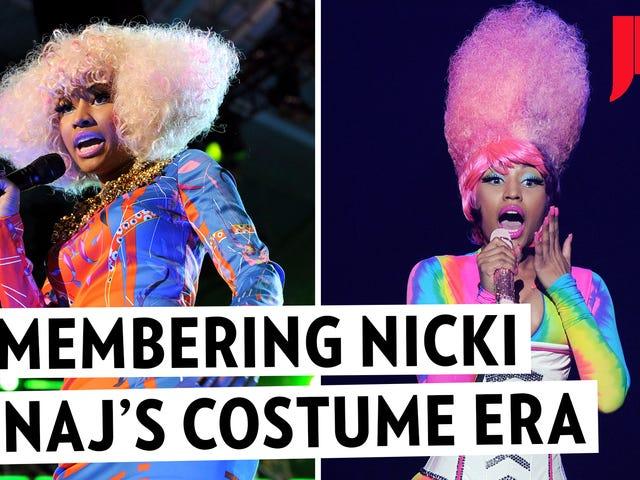 A Look Back at Nicki Minaj's Wild and Colorful Costume Era