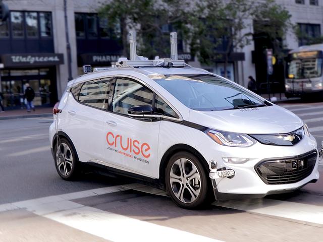 GM vise à obtenir avant tout le monde avec un service de covoiturage autonome dans plusieurs villes d'ici 2019