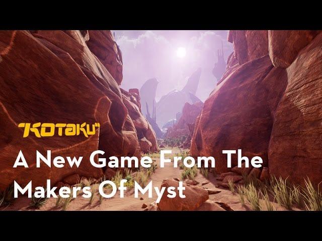 <i>Myst</i>队的新游戏<i>Obduction</i>强劲起来