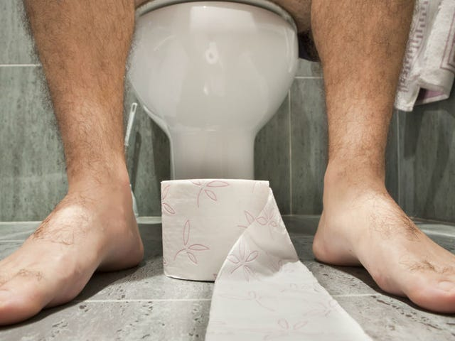 Guy Finally Realizes He's Been Pooping Wrong His Whole Life